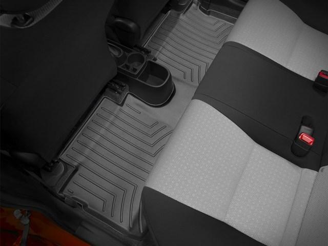 2012-2014 Yaris Hatchback 2nd Row Floor Liner - Black - Toyota (444182)
