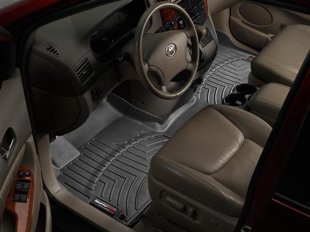 2004-2010 Sienna 1st Row Floor Liner - Black - Toyota (443181)
