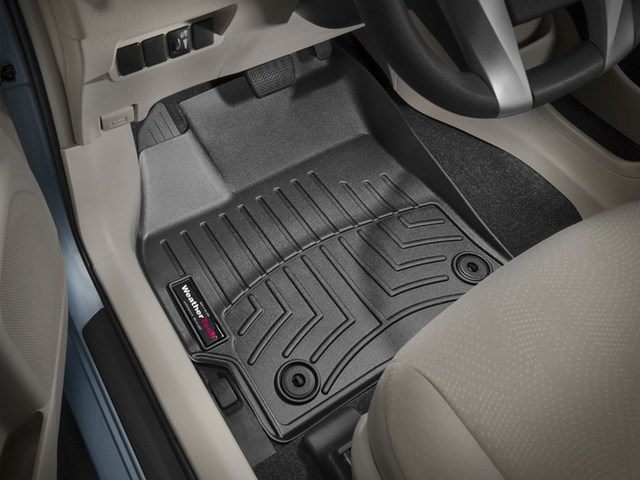2012-2015 Prius 1st Row Floor Liners - Black - Toyota (444271PRIUS)