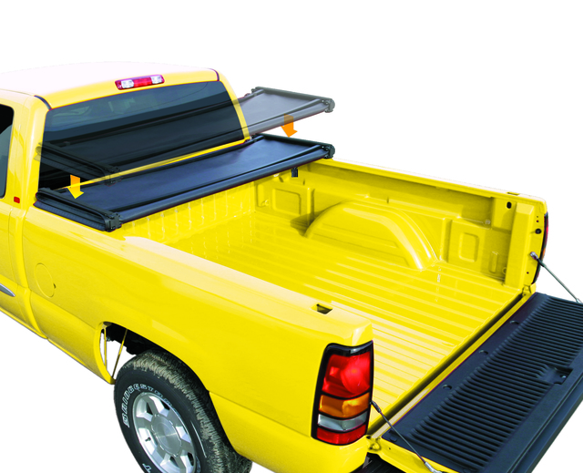 2014 2019 Tonneau Cover Hard Tri Folding 5 5 Bed By Rugged Cover Hctun5514 Nashuatoyota