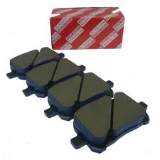 """FRONT BRAKE PADS....... Or Search For """"04465-AZ023-TM"""" for Genuine Toyota Ceramic Economy Pads - Toyota (04465-48150)"""