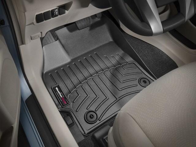 2012-2017 Prius V 1st Row Floor Liners - Black - Toyota (444271)