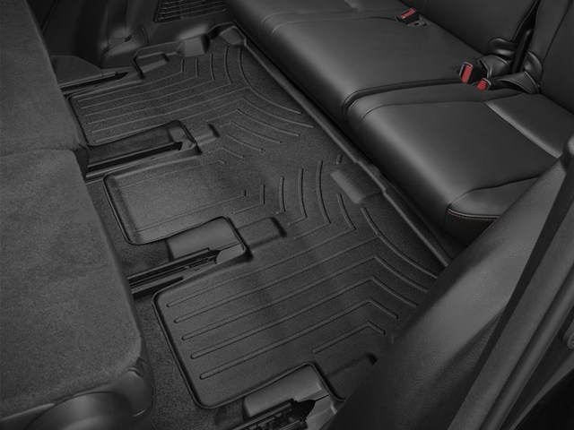 2014-2019 Highlander Non Hybrid With 2nd Row Bench Seats, 3rd Row Floor Liner - Black - Toyota (446323)