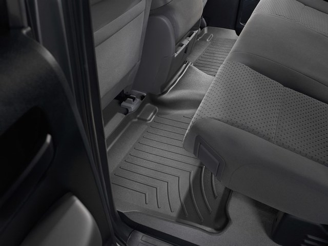 2007-2013 Tundra Double Cab 2nd Row Floor Liner - Black - Toyota (440932)