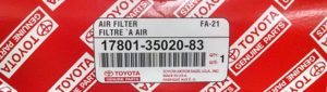 Filter Element - Toyota (17801-35020-83)