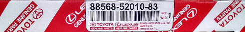 2 Pack of Genuine Toyota Cabin Air Filters - Toyota (88568-52010-83-2)