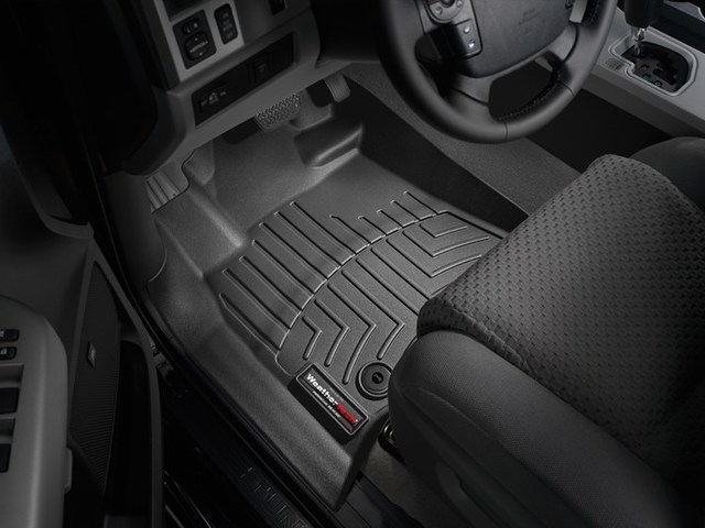 2012-2019 Tundra Regular Bed Floor Liners - Black - Toyota (444081RB)