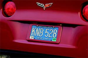 License Plate Holder - GM (12499517)