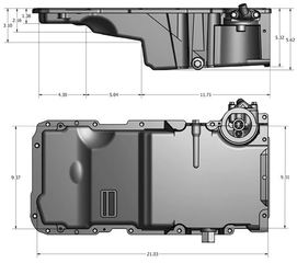 Oil Pan - GM (12628771)