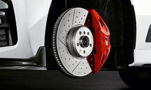 BMW M PERFORMANCE RETROFIT BRAKE KIT - RED - BMW (34-11-2-450-161)