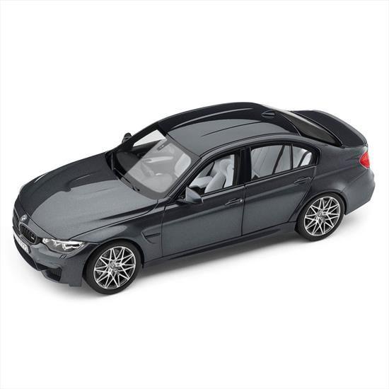 BMW MINIATURE M3 (F80) 1:18 - MINERAL GRAY - BMW (80-43-2-411-554)
