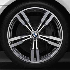 BMW M PERFORMANCE 20 WINTER WHEEL & TIRE 648M - ORBIT GREY, FRONT - BMW (36-11-2-444-939)