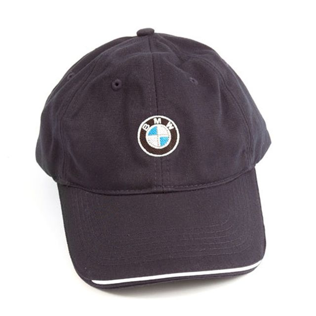 RECYCLED BRUSHED TWILL CAP - NAVY - BMW (80-16-0-439-605)