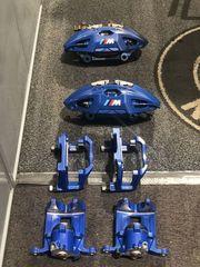 BMW OEM M-SPORT CALIPER SET - BLUE - BMW (USEDBLUECALIPERS)