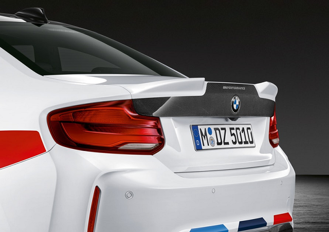 BMW M PERFORMANCE CARBON FIBER TAILGATE - BMW (41-62-2-460-278)