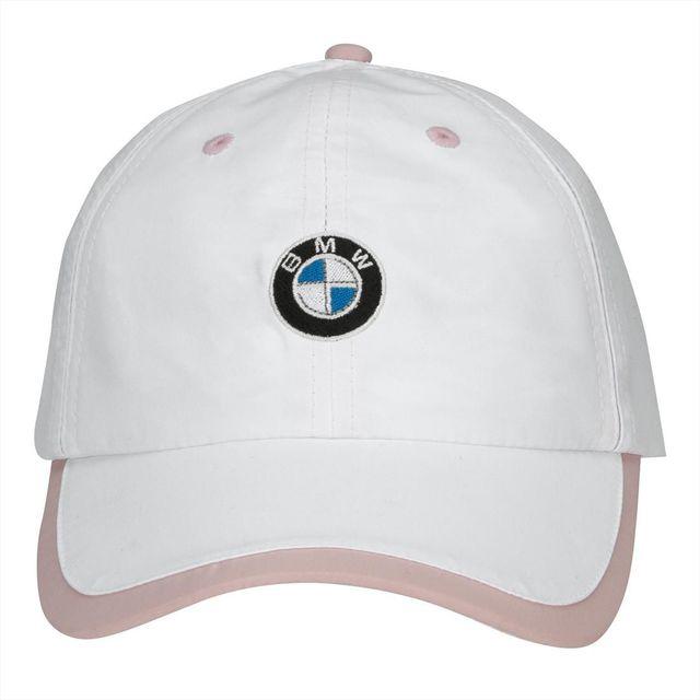 BMW LADIES' MICROFIBER CAP - WHITE/PINK - BMW (80-16-0-439-609)