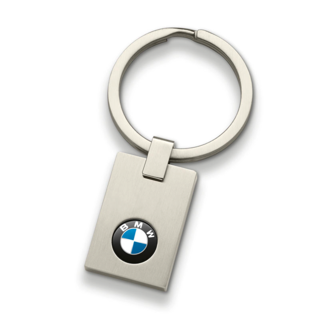 BMW KEY RING PENDANT - SQUARE - BMW (80-27-2-454-772)