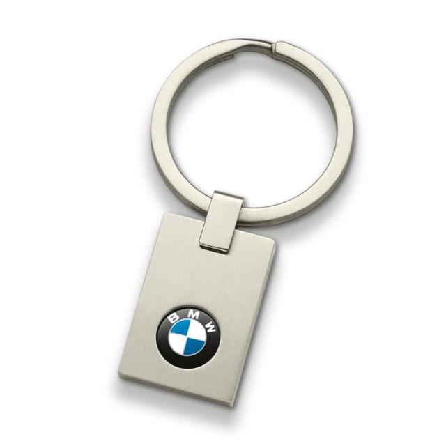 BMW KEY RING PENDANT - SQUARE - BMW (80-27-2-454-772)