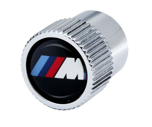 BMW M LOGO VALVE STEM CAPS - BMW (36-11-0-421-543)