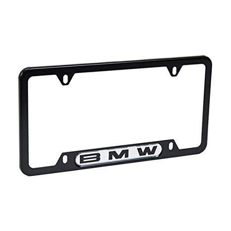 BMW LICENSE PLATE FRAMES - BLACK FINISH - BMW (82-12-0-010-398)