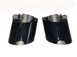 BMW M PERFORMANCE CARBON FIBER TAILPIPE FINISHER SET - 330i/430i - BMW (18-30-2-464-500)