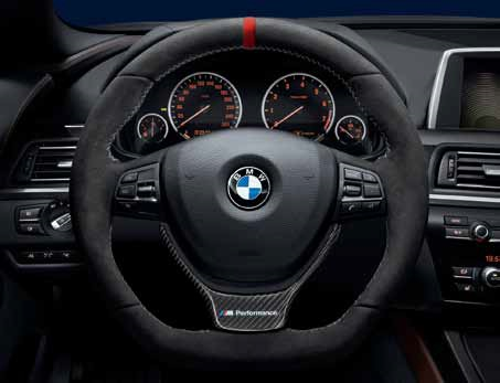 BMW M PERFORMANCE STEERING WHEEL - SPORT AUTOMATIC TRANSMISSION - BMW (32-30-2-253-648)