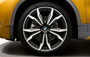 BMW MATTE ORBIT GRAY RIM - BMW (36-10-8-008-659)