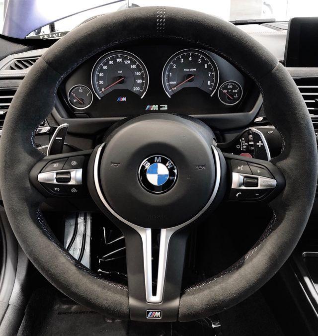 BMW M PERFORMANCE CS ALCANTARA STEERING WHEEL - BMW (32-30-8-074-914)