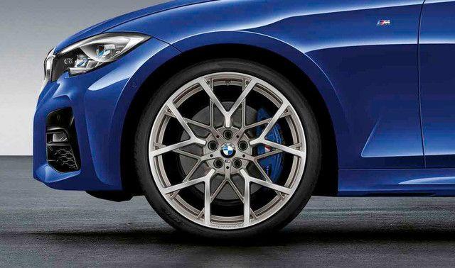 BMW M PERFORMANCE 20 SUMMER WHEEL & TIRE SET 795M - FERRIC GREY - BMW (36-11-2-459-546)