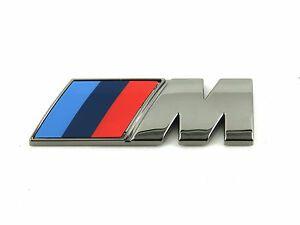 BMW CERIUM GREY M SIDE FENDER BADGE - BMW (51-14-8-090-642)