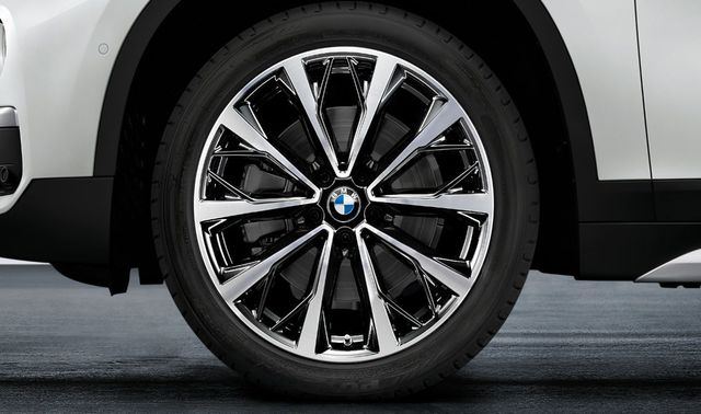 BMW M PERFORMANCE STYLE 573 SUMMER COMPLETE WHEEL AND TIRE SET - BMW (36-11-2-469-017)