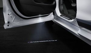 BMW M PERFORMANCE LOGOS FOR LED DOOR PROJECTORS - BMW (63-31-2-456-413)