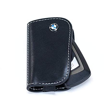 BMW LEATHER KEY CASE - BLACK - BMW (80-23-2-209-855)