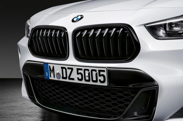 BMW M PERFORMANCE BLACK KIDNEY GRILLE - LEFT - BMW (51-71-2-455-247)