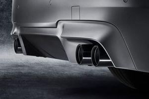 BMW OEM BLACK CHROME EXHAUST TIP - BMW (18-30-7-849-341)