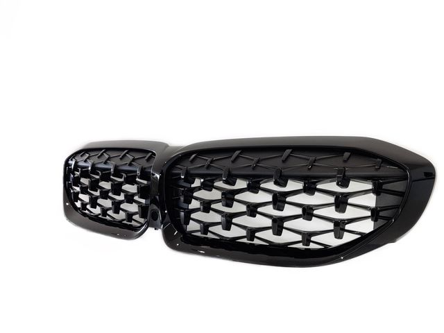BMW M PERFORMANCE HIGH-GLOSS BLACK GRILLE - BMW (51-13-9-448-475)