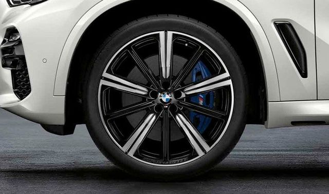 BMW M PERFORMANCE 22 SUMMER WHEEL & TIRE 749M - BLACK - BMW (36-11-2-459-599)