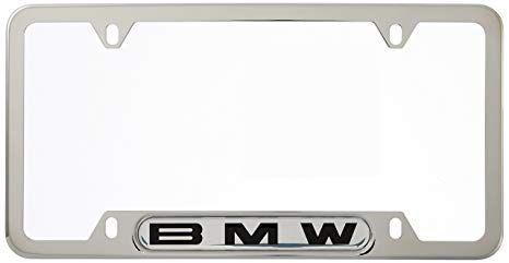 BMW LICENSE PLATE FRAMES - POLISHED FINISH - BMW (82-12-0-010-395)