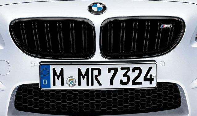 BMW M PERFORMANCE BLACK KIDNEY GRILLE - RIGHT - BMW (51-71-2-352-810)