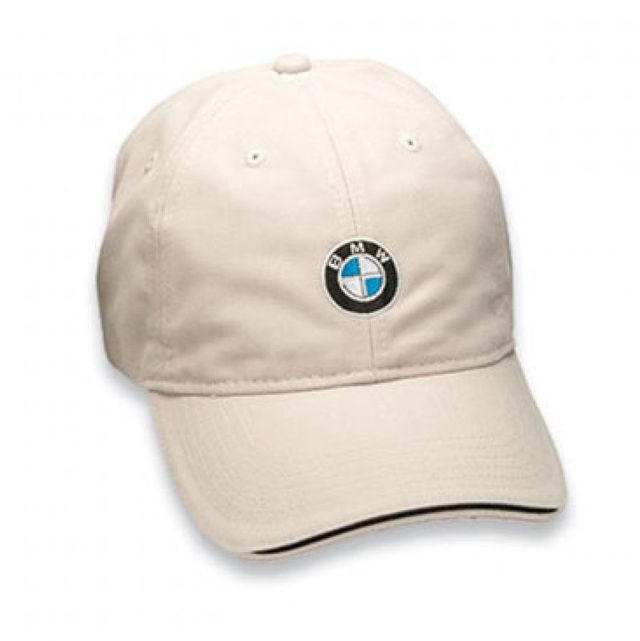 RECYCLED BRUSHED TWILL CAP - STONE - BMW (80-16-0-439-606)