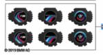 BMW M PERFORMANCE LED DOOR PROJECTORS EXTRA SLIDES - BMW (63-31-2-469-631)