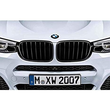 BMW M PERFORMANCE BLACK KIDNEY GRILLE - LEFT - BMW (51-71-2-337-762)