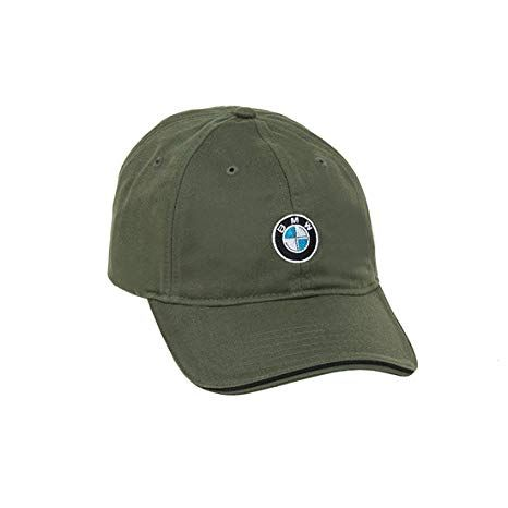 RECYCLED BRUSHED TWILL CAP - OLIVE - BMW (80-16-0-439-607)
