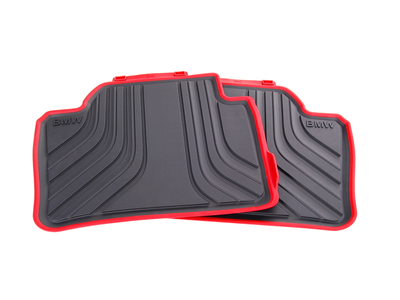 BMW OEM ALL-WEATHER SPORT LINE FLOOR MATS - REAR - BMW (51-47-2-297-427)