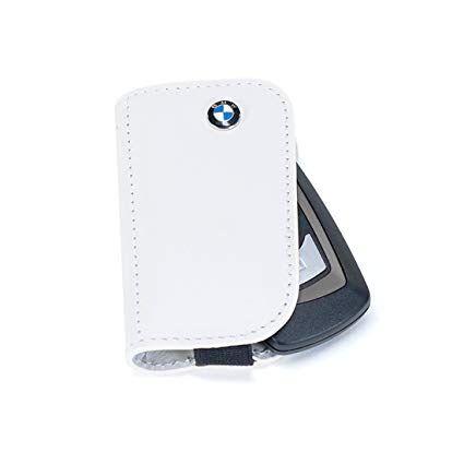 BMW LEATHER KEY CASE - WHITE - BMW (80-23-2-336-958)