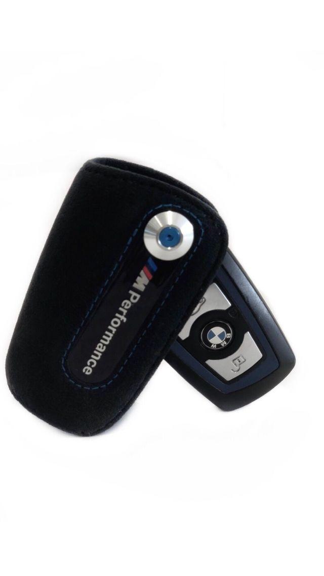 BMW M PERFORMANCE ALCANTARA LEATHER KEY CASE - BMW (82-29-2-355-518)
