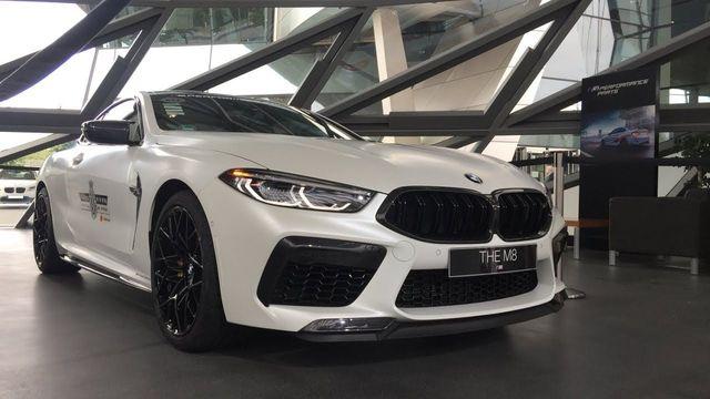 BMW M PERFORMANCE HIGH-GLOSS BLACK GRILLE - BMW (51-13-8-077-305)