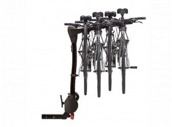 Racks and Carriers - Hitch Mounted Bike Rack, Swing by Yakima, 4 Bike - Ford (VKB3Z-7855100-L)