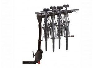 Racks and Carriers - Hitch Mounted Bike Rack, Swing by Yakima, 4 Bike - Ford (VKB3Z-7855100-L)
