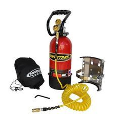 10 lb. Power Tank Package A, FLAME RED